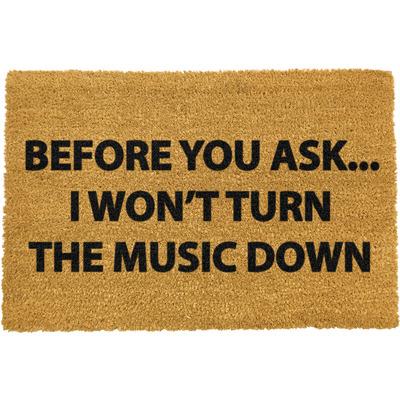 Fußmatte   Loud Music