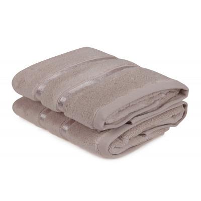 2-er Set Handtücher Dolce | Hell Lila