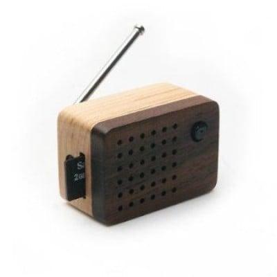 Tiny Wooden Emotion 2 Lautsprecher (integriertes FM Radio)