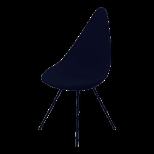 Liegestuhl | Kunststoffschale schwarz