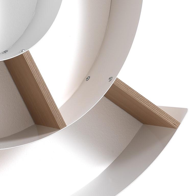 Wall Shelf Chiocciola | White
