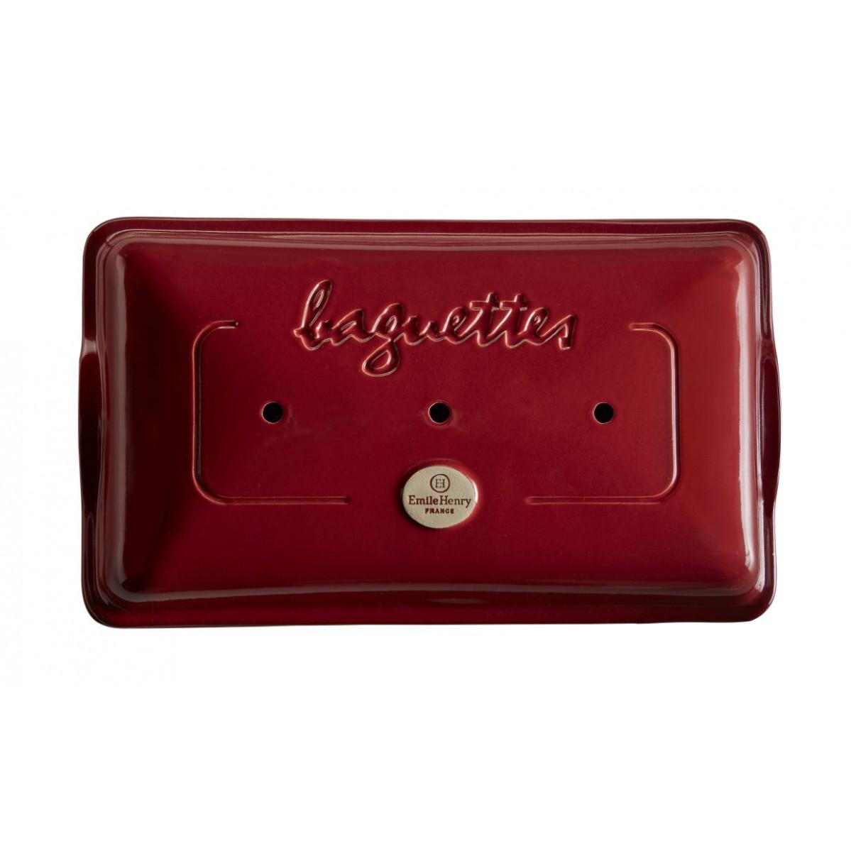 Brotbackform Baguette | Burgundy Rot
