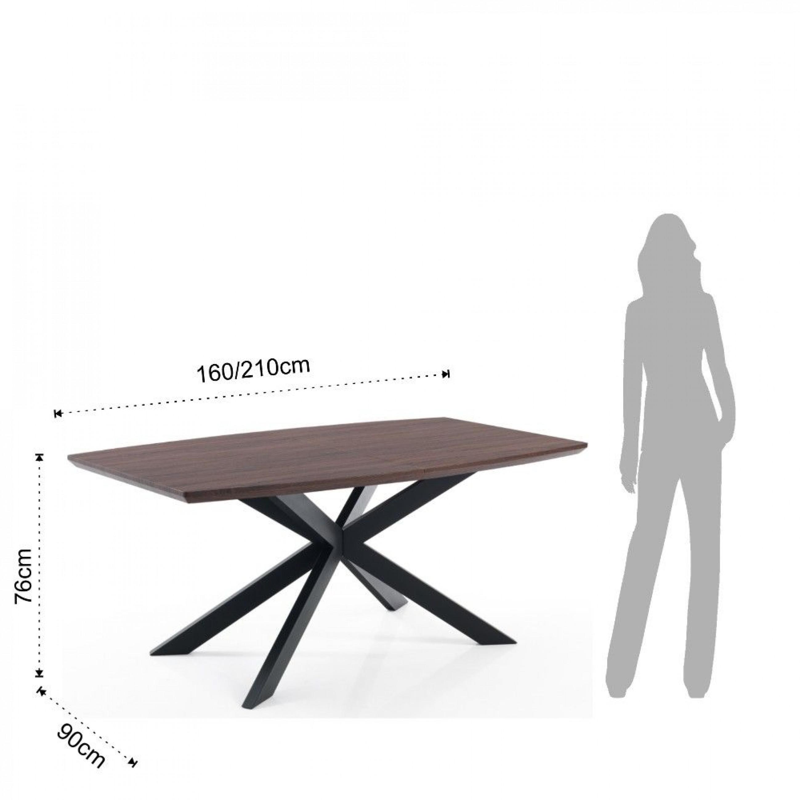 Table Hics   Dark Wood