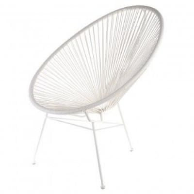 Stuhl Acapulco   Weiß