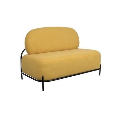 2-Sitzer-Sofa Polly   Gelb