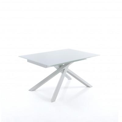 Ausziehbarer Tisch Shangai   Weiß