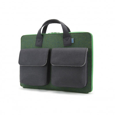 Frank Laptop Briefcase   Green