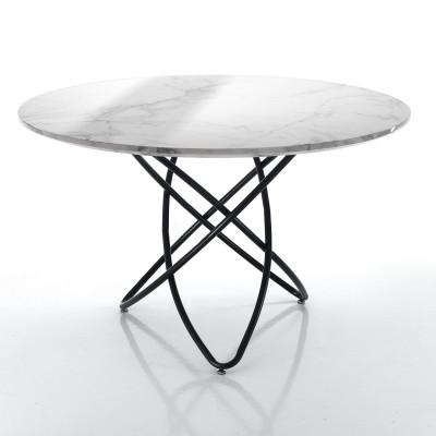 Tisch Hula Hoop | Marmor-Effekt