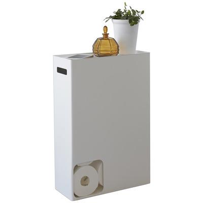 Toilettenpapierhalter Plate | Weiß