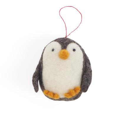 Kleiner Hängender Pinguin   Schwarz
