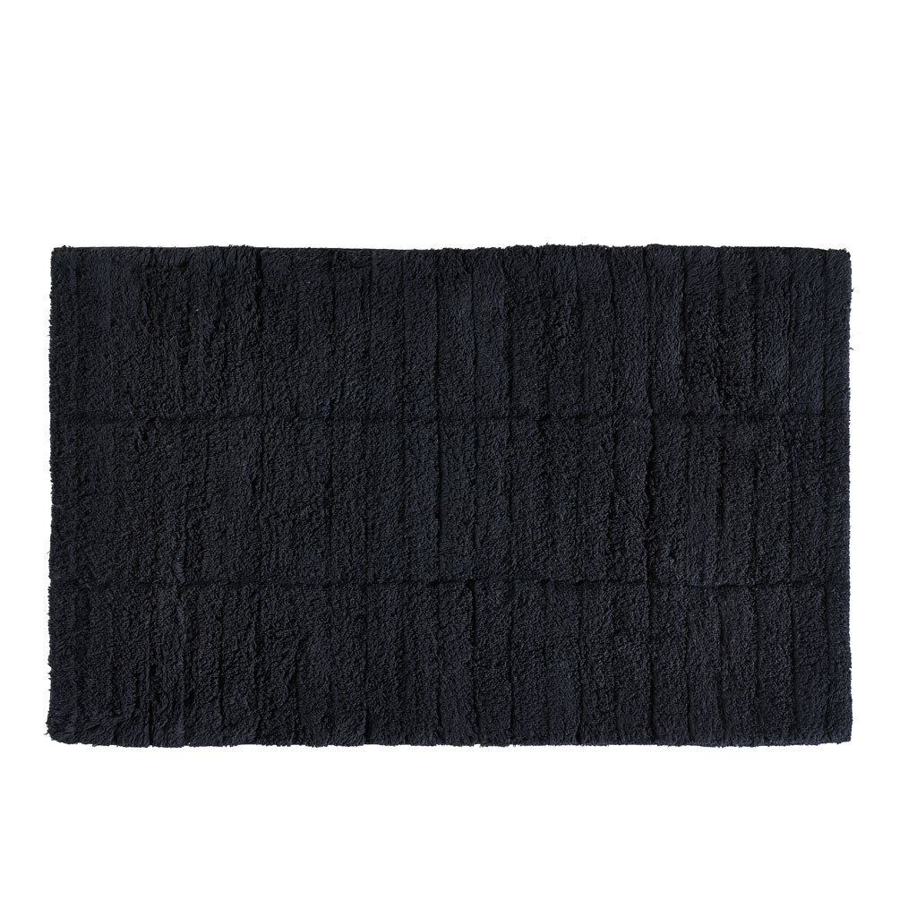 Tapis de Bain Tiles | Noir
