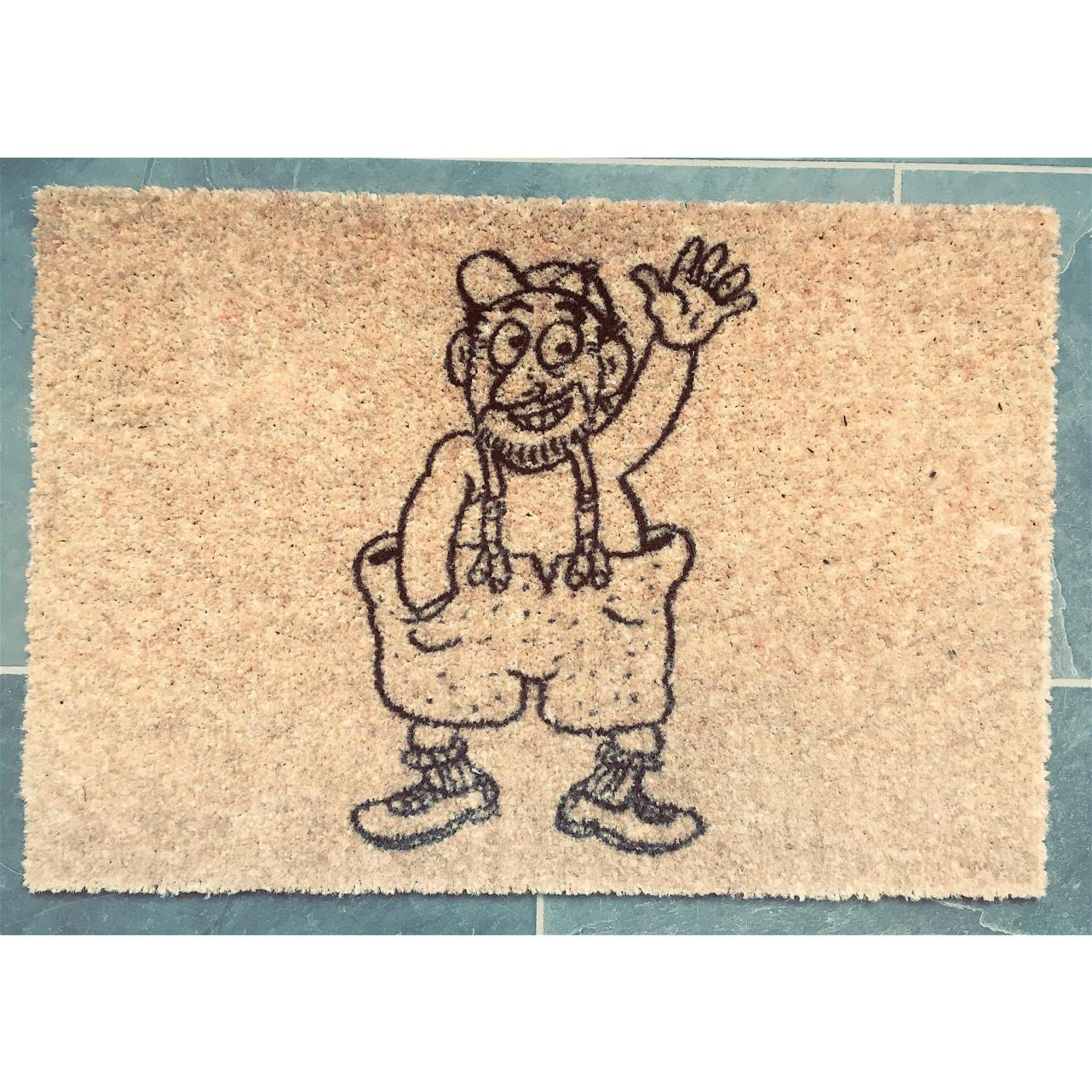 Fococo Doormat | URB Psst! De Sleutel-55 x 70 cm