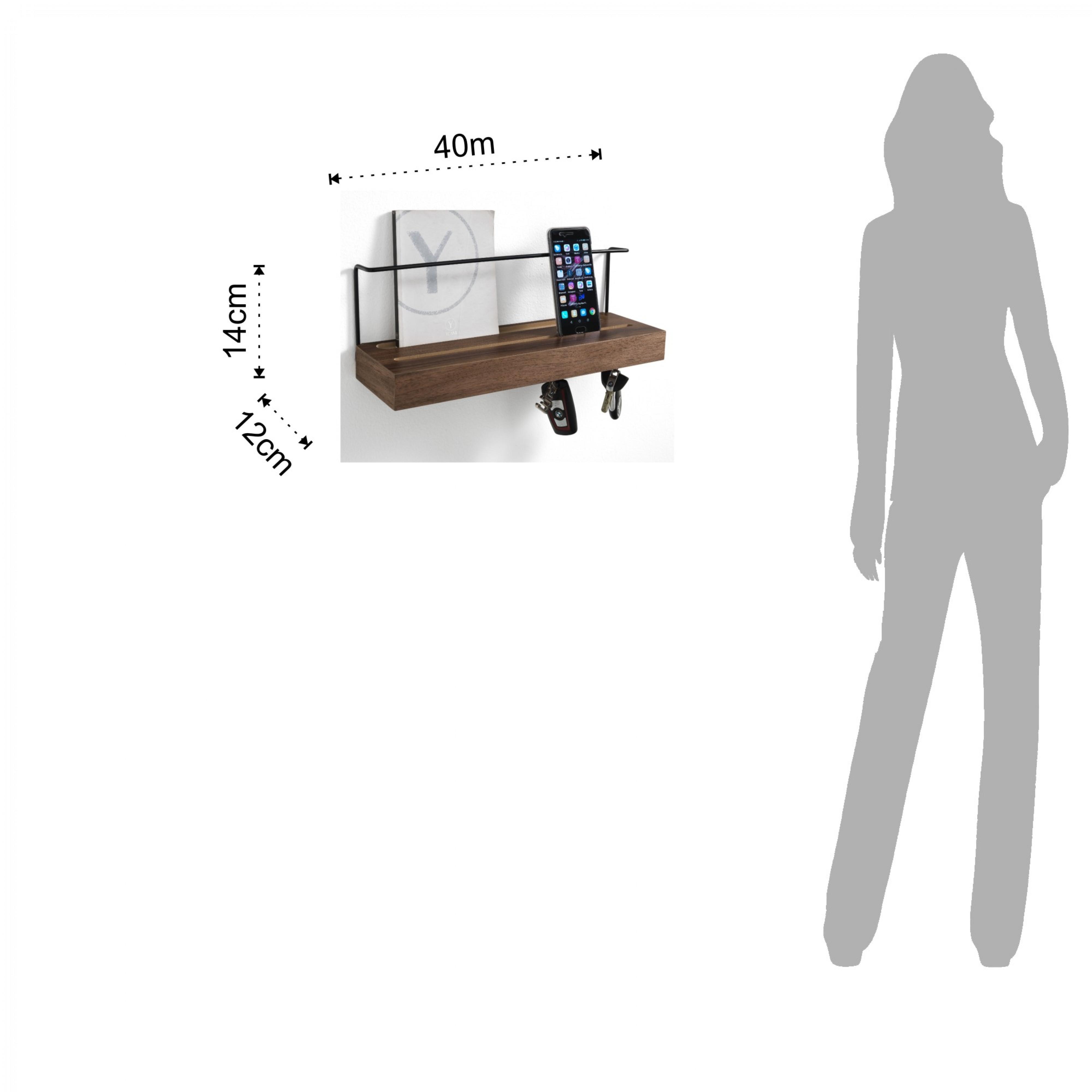 Shelf for Key Ring & Documents Billa