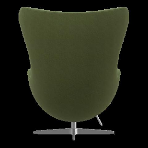 Egg Lounge Chair | Dark Olive Divina Melange