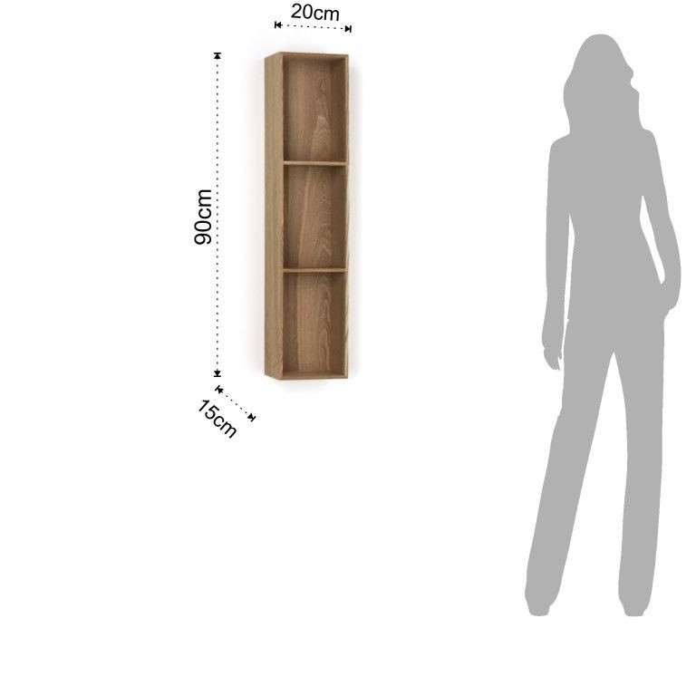 Shelf Billa 3 Rooms | Wood