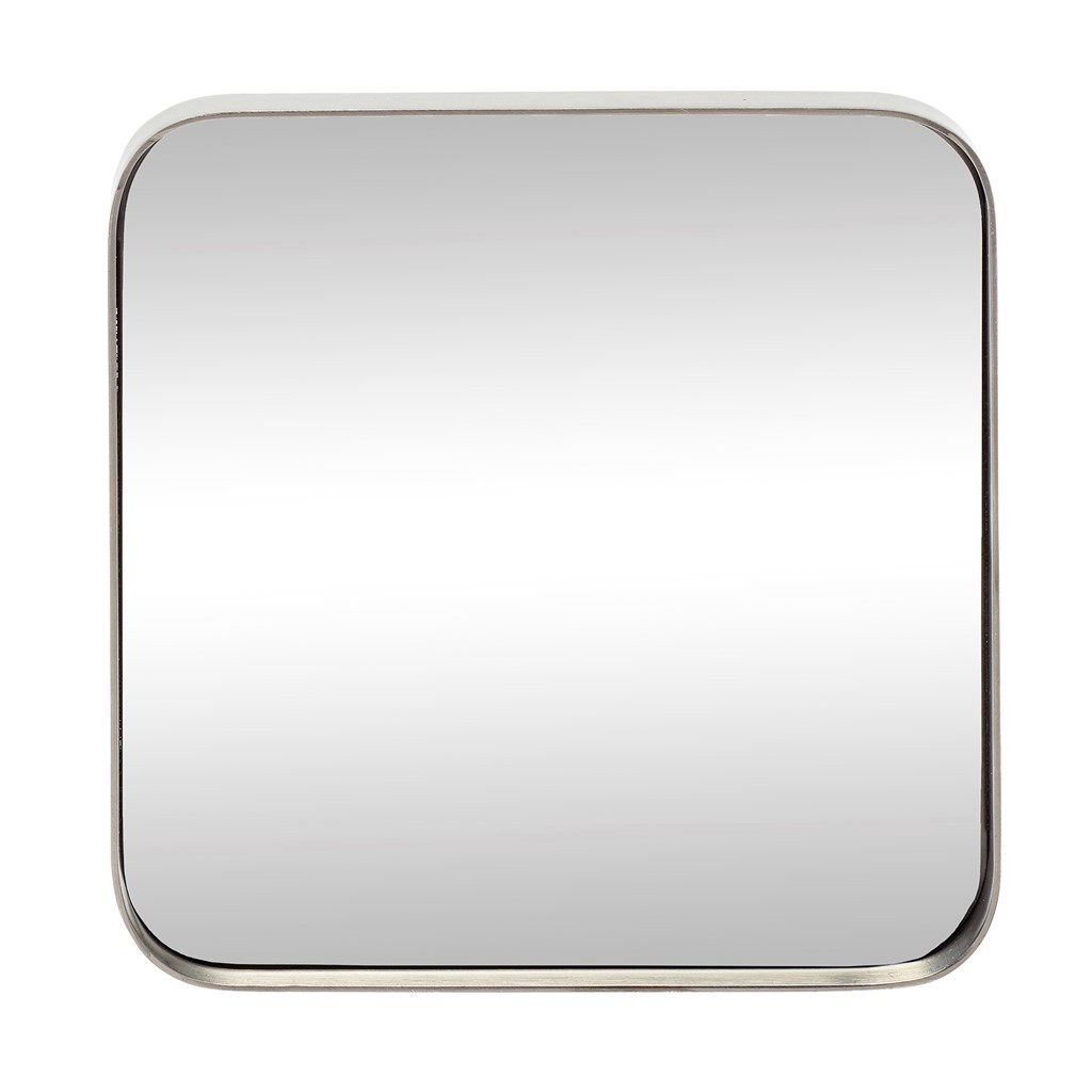 Mirror Square Iron   Pewter