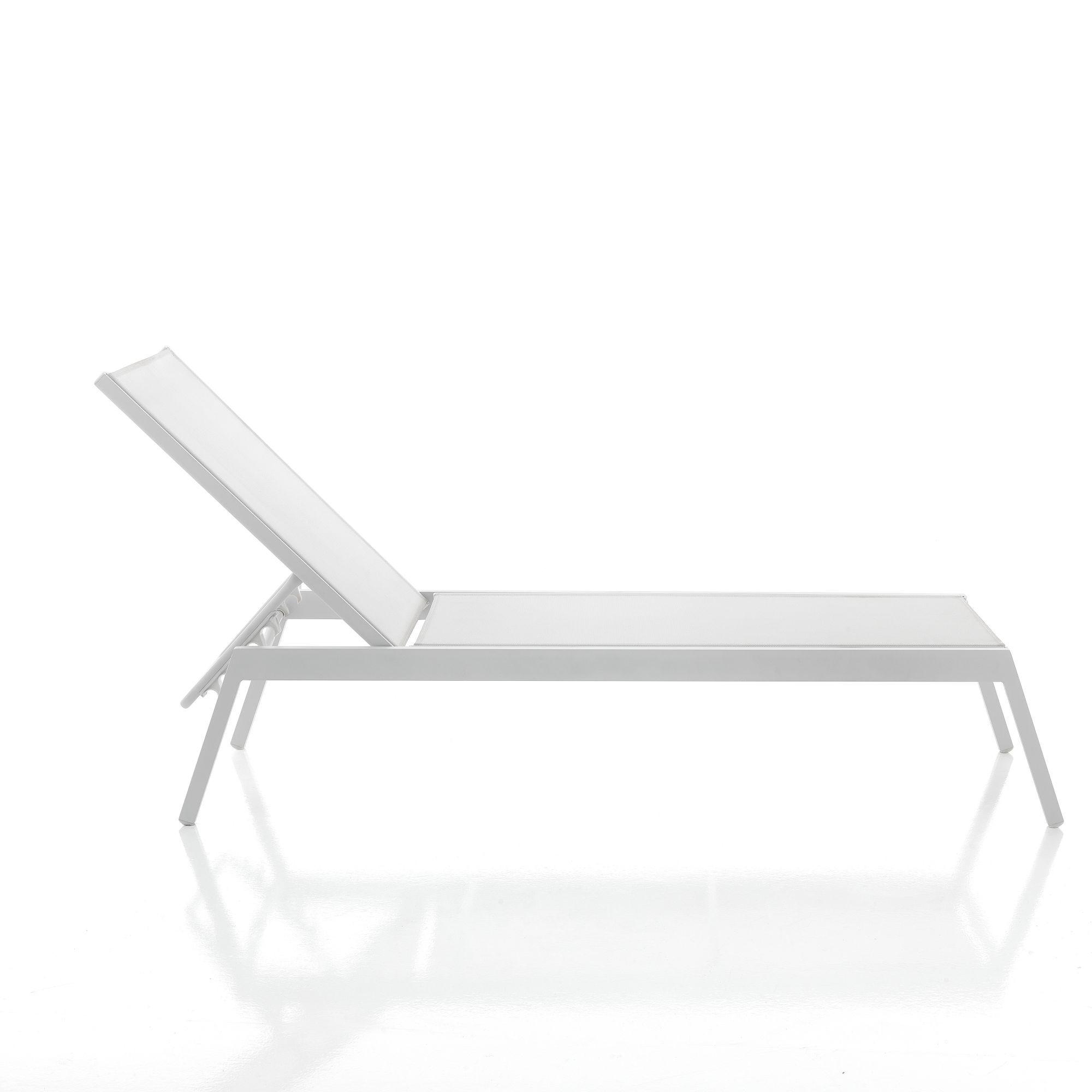 Adjustable Sun Bed Kastri | Grey