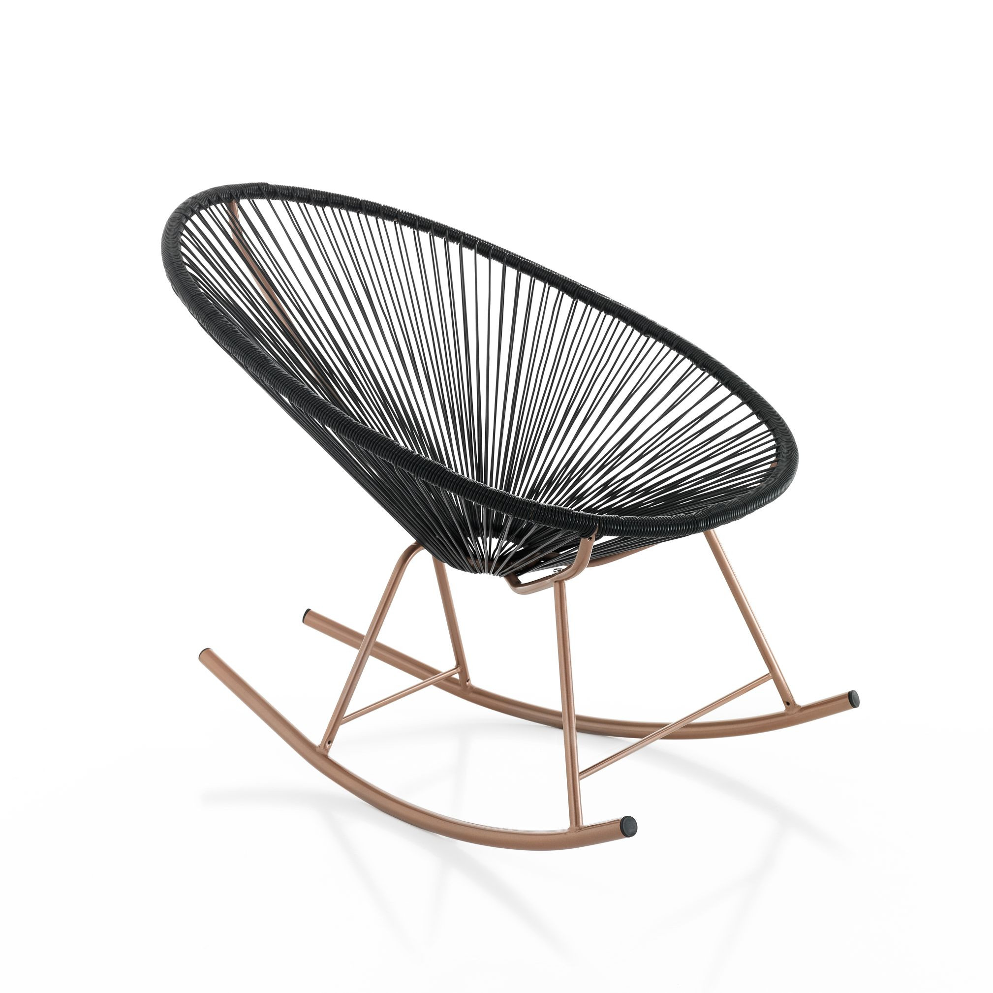 Rocking Chair Numana   Black