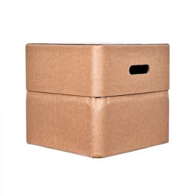 Box-Stuhl 34 cm | Naturel