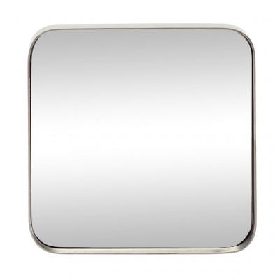 Spiegel Quadratisches Eisen | Zinn