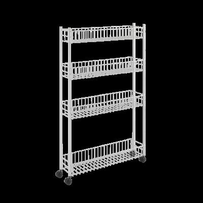 Hoher Küchenwagen extra schlank | Weiß