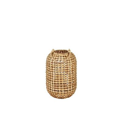 Laterne H 39 | Bambus / Glas