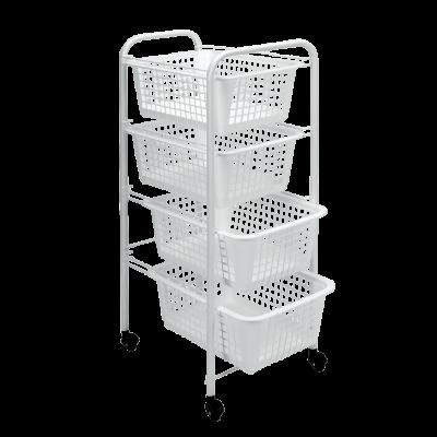 Küchenwagen Miami | Weiß