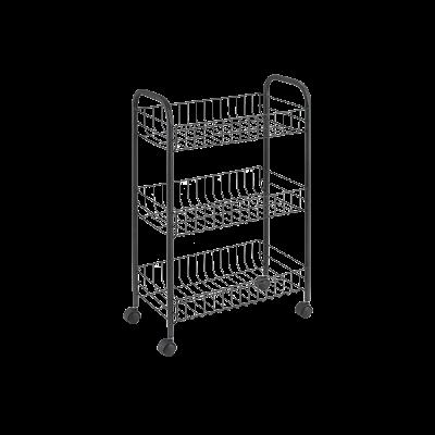 Küchenwagen Lugano | Schwarz