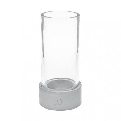 Bela Mini Candle Tealight Holder   Grey