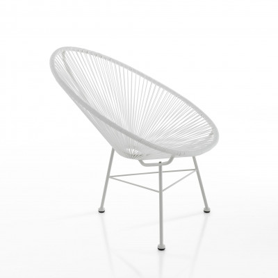 Lounge-Sessel Numana | Weiß