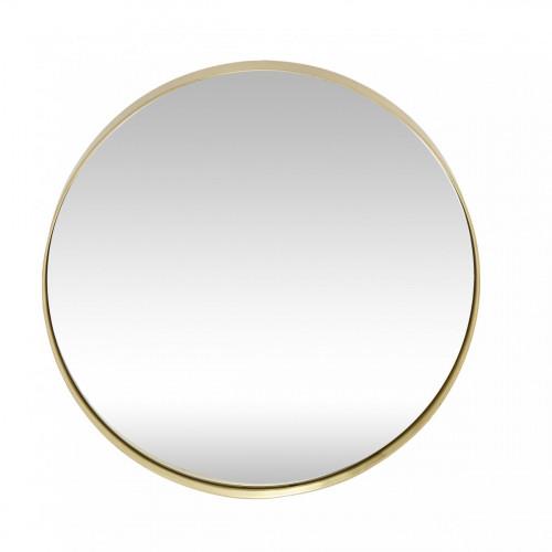 Wall Mirror | Round, Brass