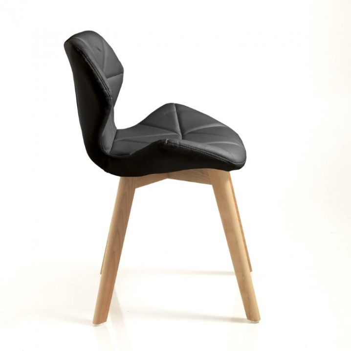 Dining Chair New Kemi-A Set of 2   Black