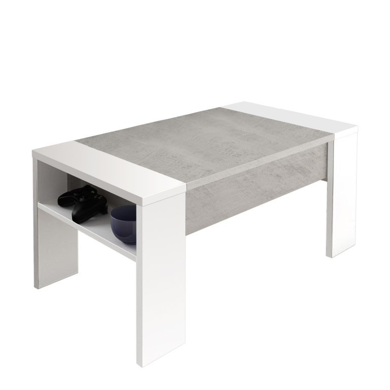 Container Coffee Table James | Cement