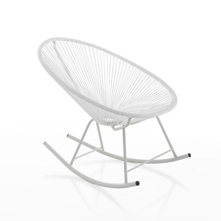 Rocking Chair Numana   White