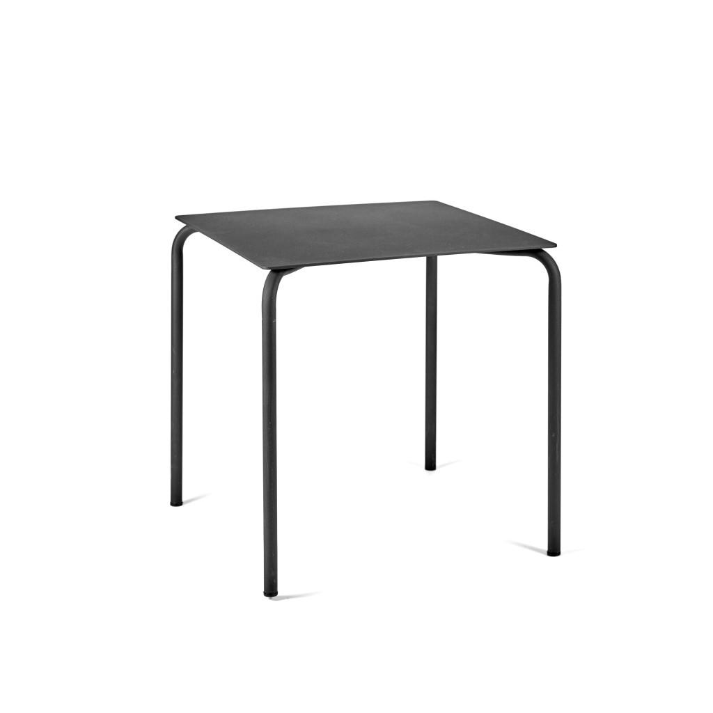 Tisch August 70 x 70 cm   Schwarz