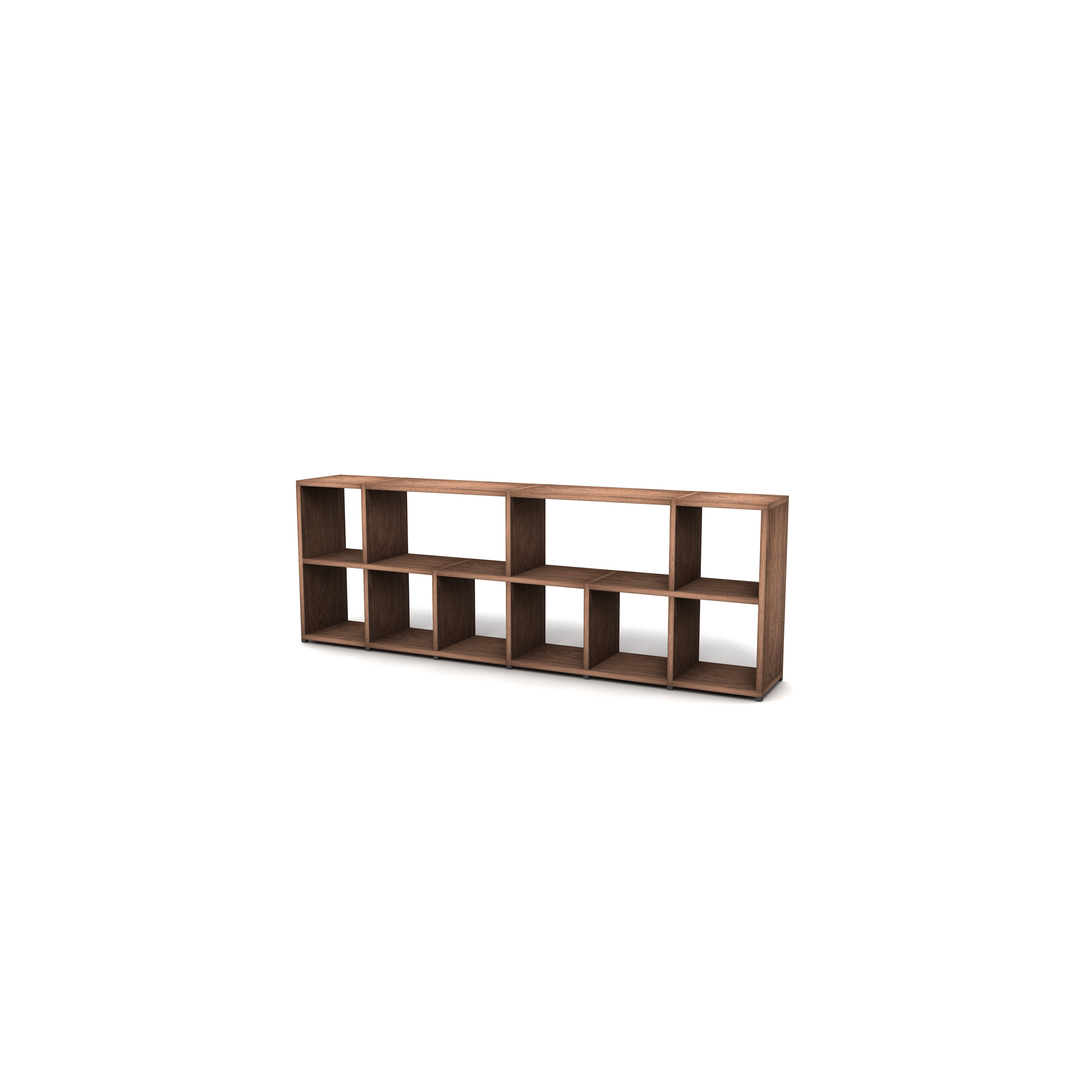 Shelving System 355 Version 1 | Walnut Wood