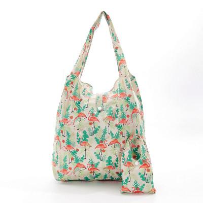 Einkaufstasche | Flamingo | Beige