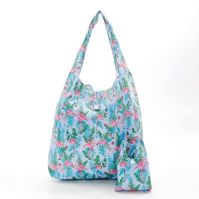 Einkaufstasche | Flamingo | Blau