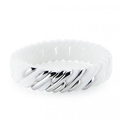 Pixel Mini 15 mm | White & Silver