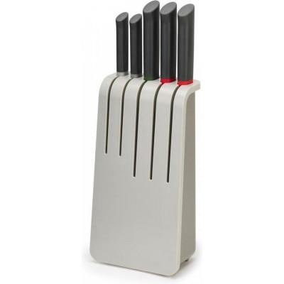 Knife Set Duo incl 5 Knives & 1 Block