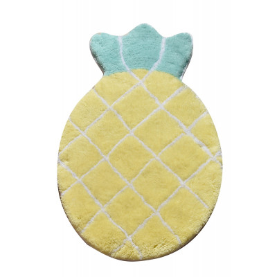 Badematte Ananas