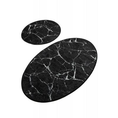 Badematte 2er-Set   Marble DJT