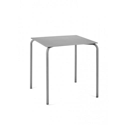 Tisch August 70 x 70 cm   Grau