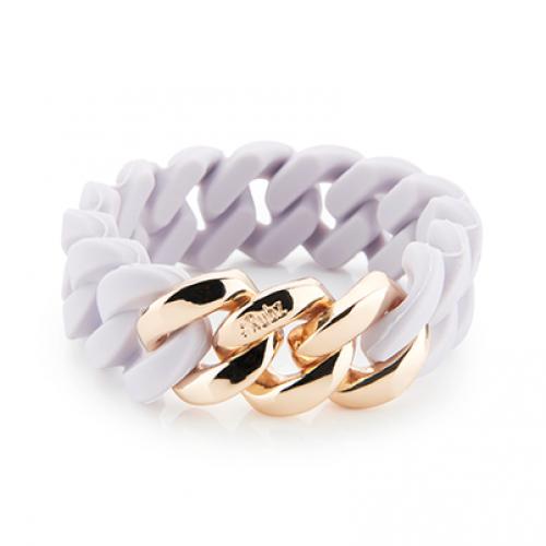 Classic Bracelet 20 mm   Lavender & Soft Gold