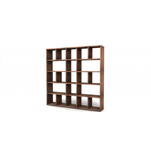 Shelving System 355 Version 6 | Walnut Wood