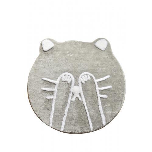 Tapis de Bain Shy Cat   Gris