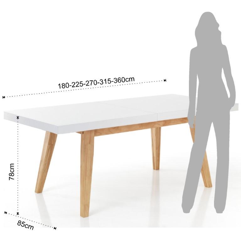Ausziehbarer Tisch Joker
