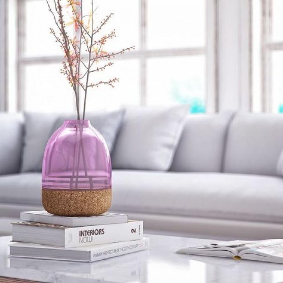 Pitaro Vase | Orchidee Lila Finish
