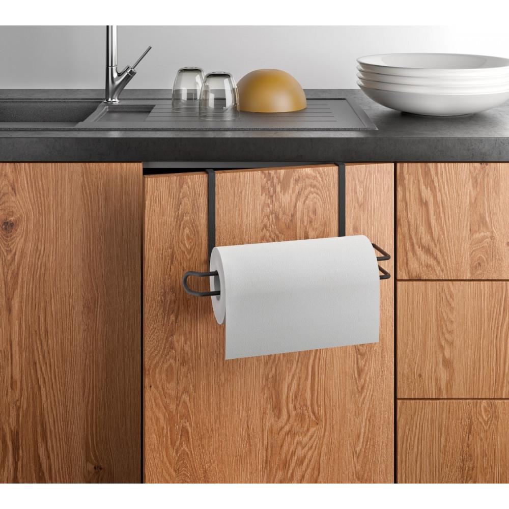 Küchenrollenhalter Easy-Roll | Schwarz