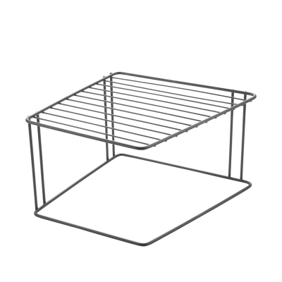 Tellerregal Boxe | Schwarz